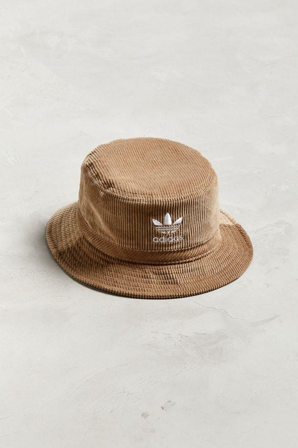 4cd08aa64f0c2 adidas Corduroy Bucket Hat