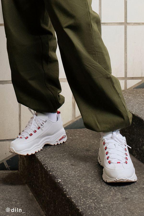 Skechers Seeing Double Premium Sneaker