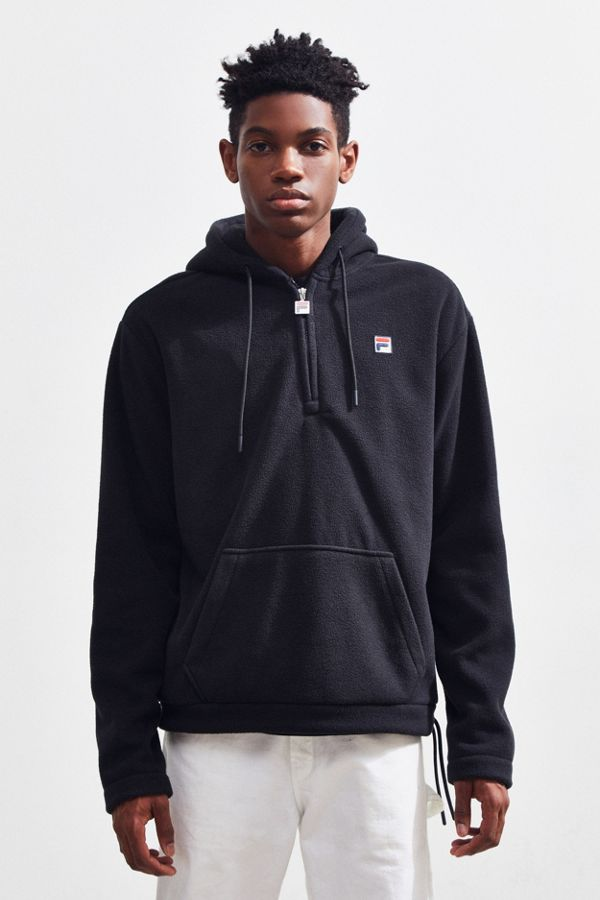 c335bde9cacd FILA Zane Half-Zip Hoodie Sweatshirt