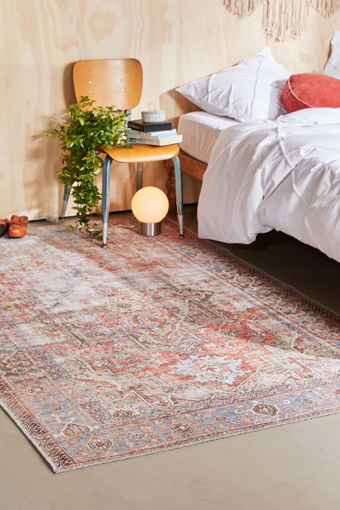 Hannah Printed Rug Urban Outfitters