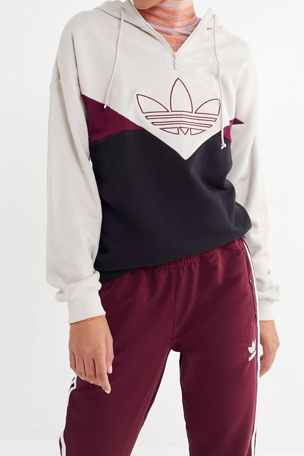 0ab2e24322ba adidas CLRDO OG Colorblock Hoodie Sweatshirt
