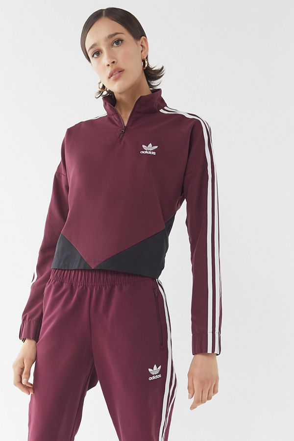 44e5d8dd6565 adidas Colorblock Half-Zip Windbreaker Jacket