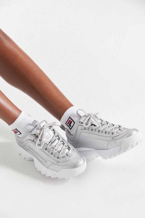 9a591adcddd FILA Disruptor 2 Premium Metallic Sneaker
