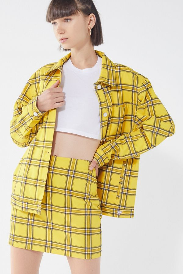 aa92d61b2 GUESS + UO Plaid Skirt | Urban Outfitters