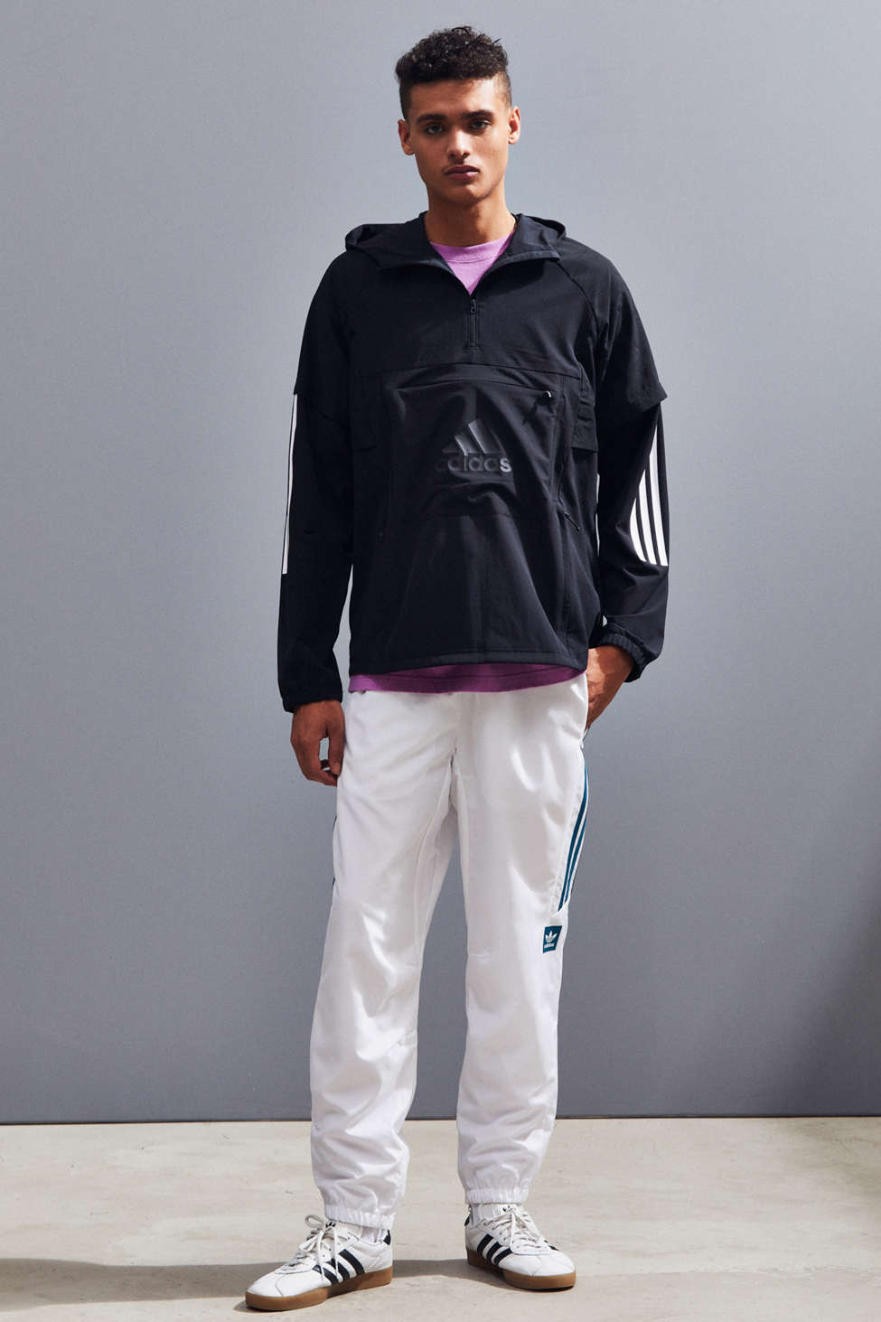 Adidas Id Woven Shell Anorak Jacket by Adidas