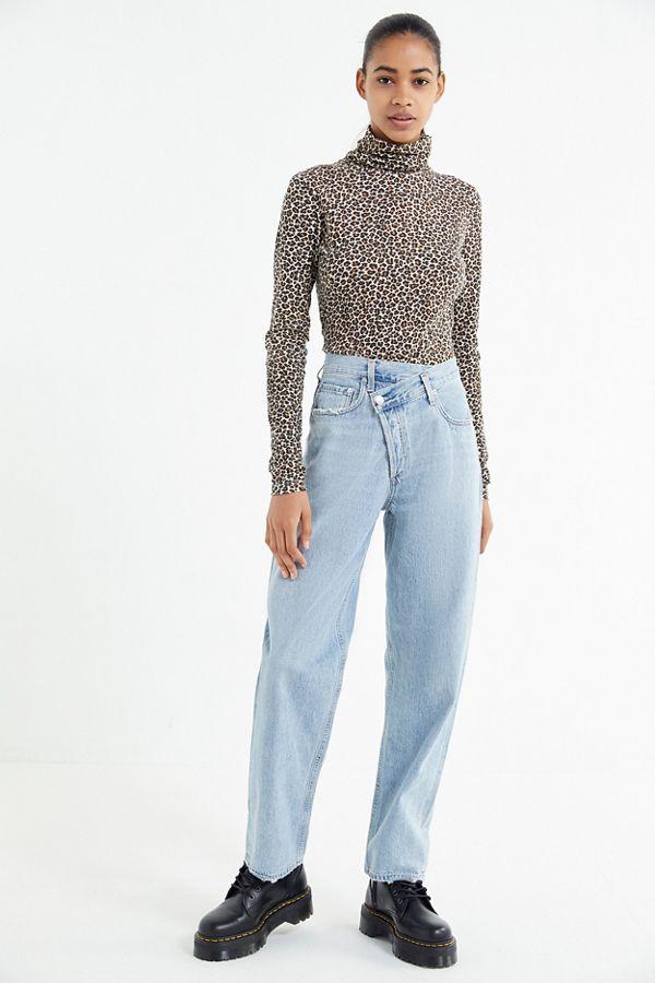 79c89536afce6 AGOLDE Criss-Cross Straight Leg Jean – Suburbia   Urban Outfitters