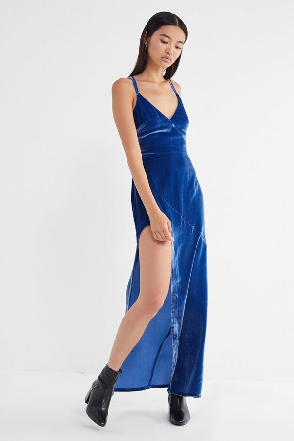71bbdb7f6 For Love & Lemons Nadine Velvet Maxi Dress | Urban Outfitters
