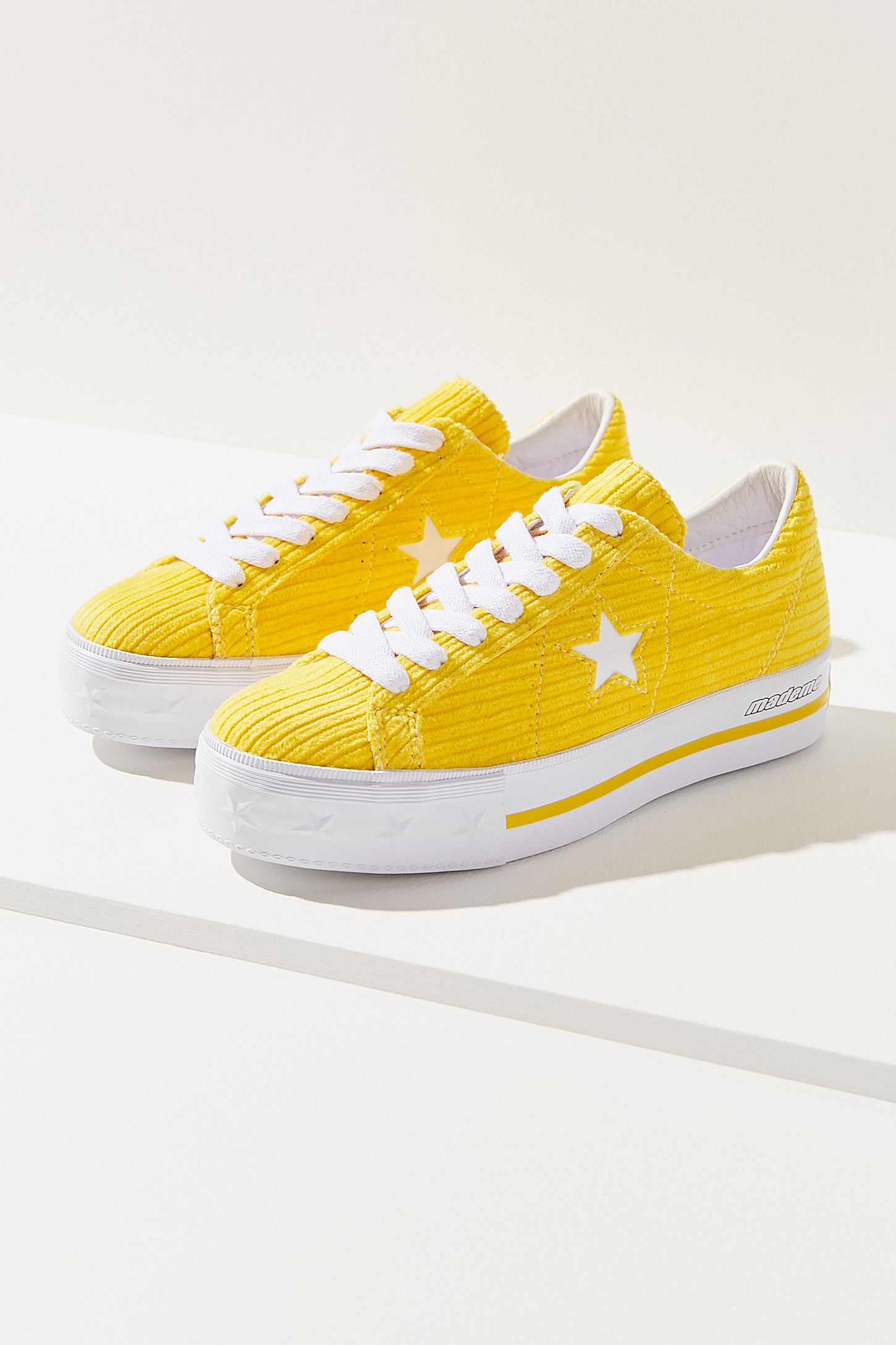6e12d0a98cb Converse One Star X MadeMe Corduroy Platform Sneaker. Tap image to zoom.  Hover to zoom. Double Tap to Zoom