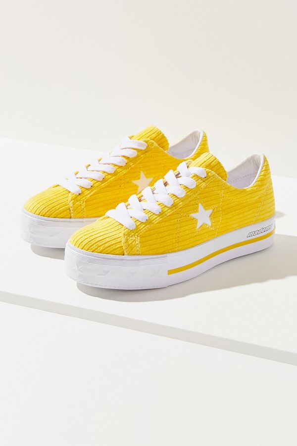 165ffe83cbb Converse One Star X MadeMe Corduroy Platform Sneaker | Urban Outfitters
