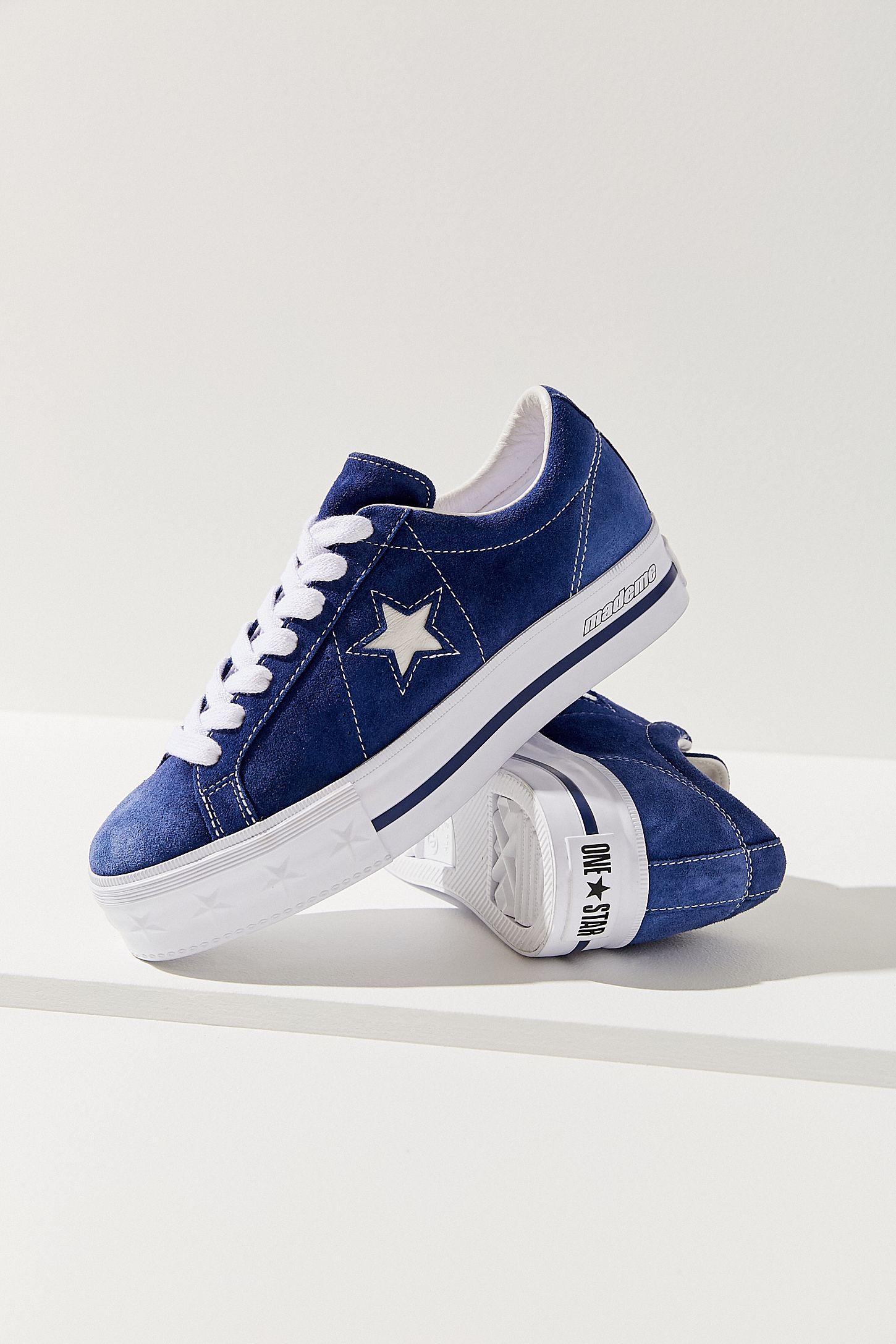 À One Sneakers Suède X Plateforme Star MademeUrban En Converse CxdWEQrBeo