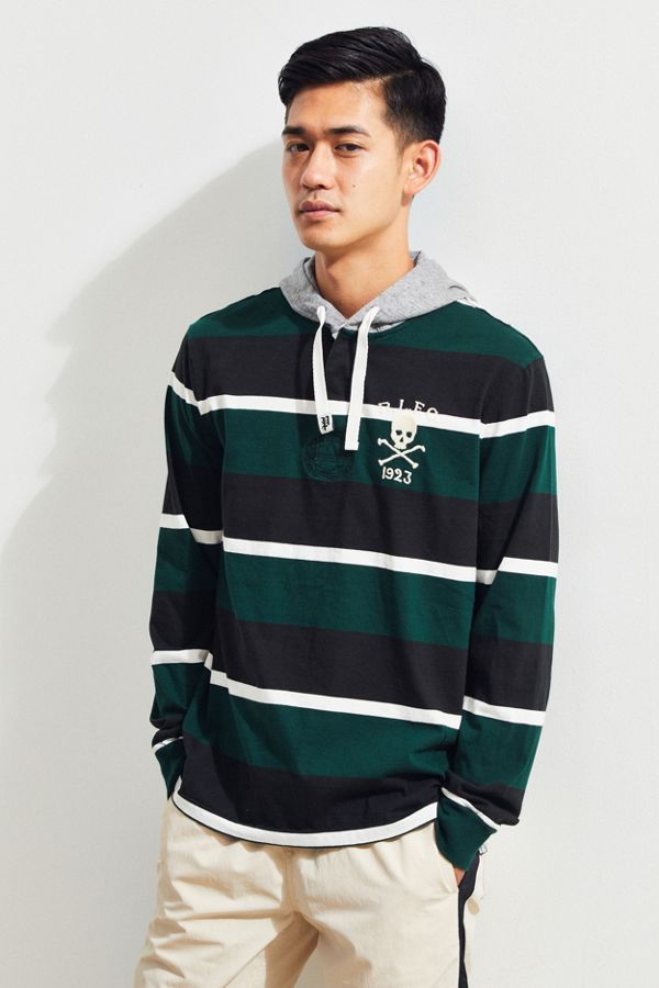 582735f6624 Polo Ralph Lauren Hooded Rugby Shirt | Urban Outfitters