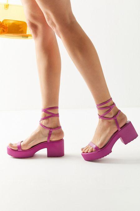 972600cb8a6c UO Claire Lace-Up Platform Sandal