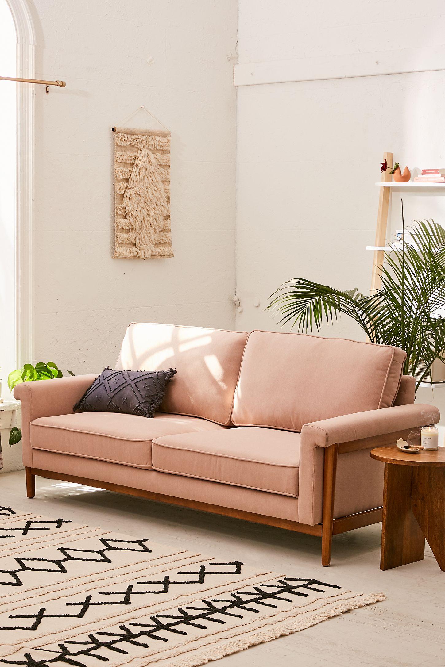 Pleasant Aria Microfiber Sofa Uwap Interior Chair Design Uwaporg