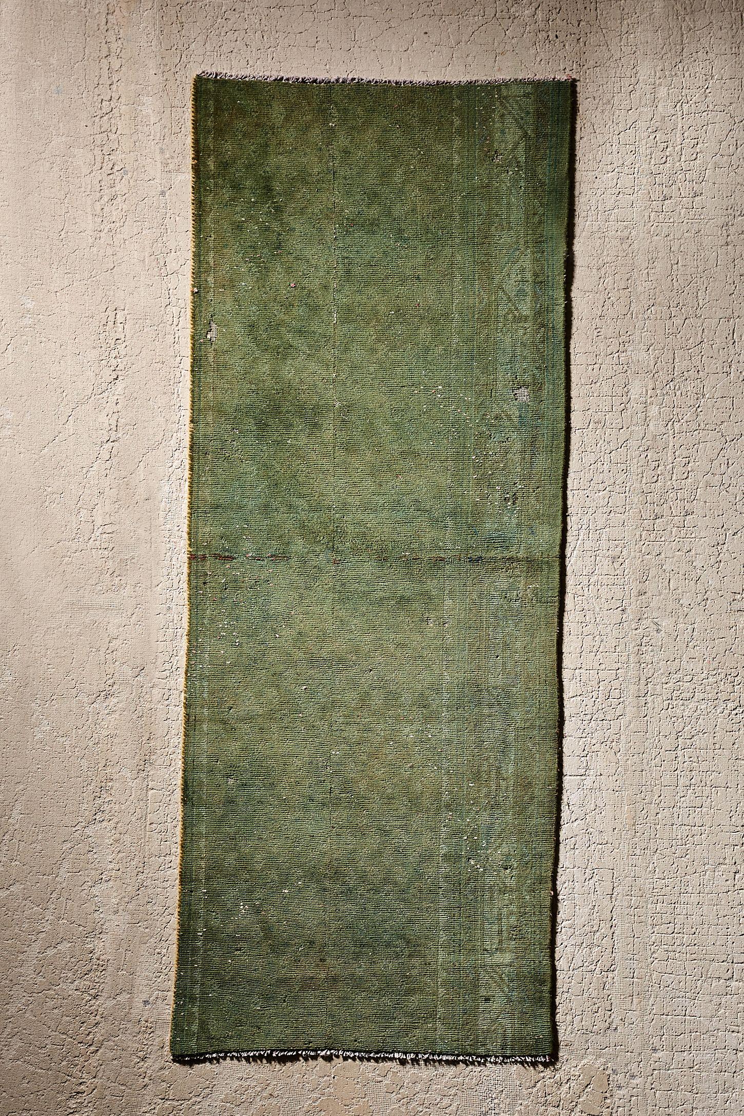 d3325ecb20 Casa Shop For Urban Renewal One-Of-A-Kind Green Wool Rug | Urban ...