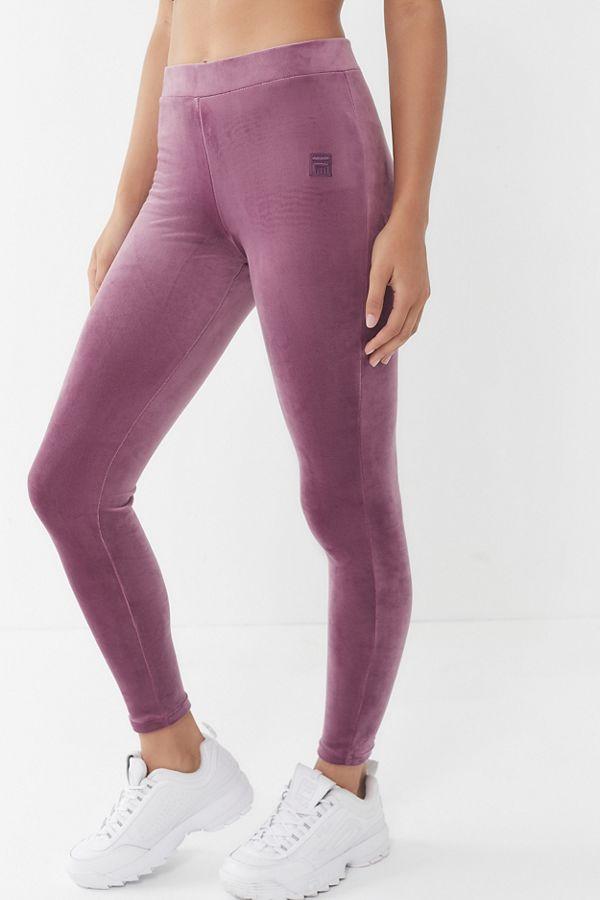 9b4c82ae8b7953 FILA + UO Velour Legging | Urban Outfitters