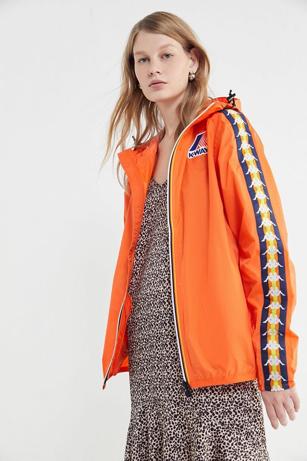 7f8b00ec9f Kappa X K-Way Le Vrai Claude Zip-Up Jacket | Urban Outfitters