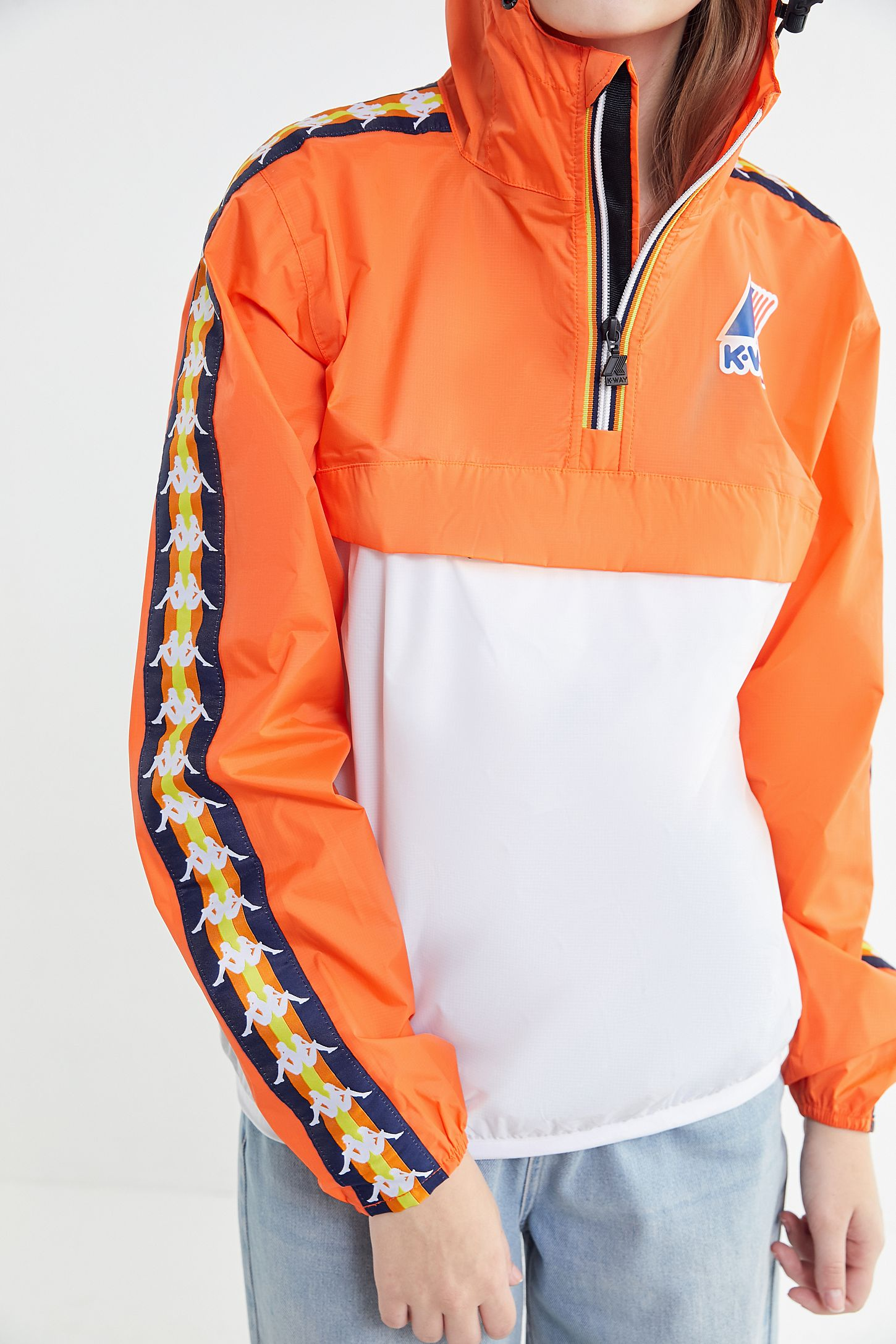 73fb0763b8 Kappa X K-Way Le Vrai Leon Popover Jacket