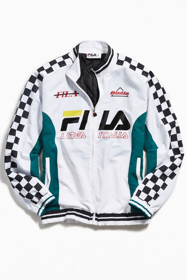 e7f9a2348b27 FILA UO Exclusive Navigator Racing Windbreaker Jacket