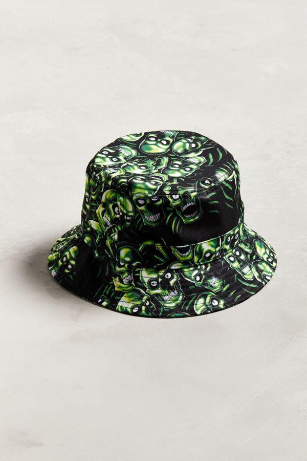598e22f4277 Skull Pile Bucket Hat