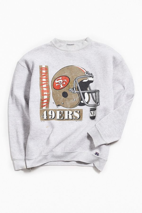new style 11c34 04580 Vintage San Francisco 49ers Crew Neck Sweatshirt   Urban Outfitters