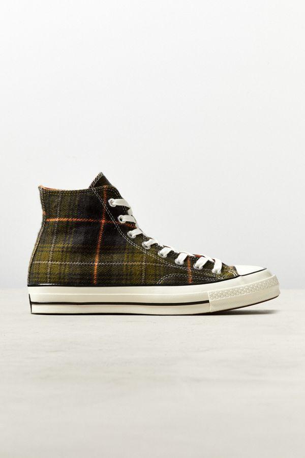 5f66b22a692f Converse Chuck 70 Elevated Plaid High Top Sneaker