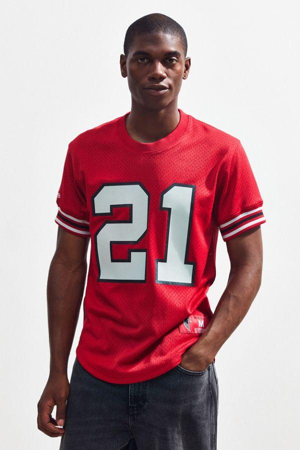 competitive price 292b6 083db Mitchell & Ness Atlanta Falcons Deion Sanders Football Jersey