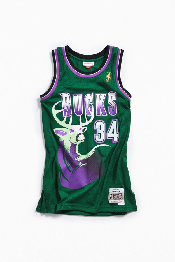 the best attitude 01ef3 1370c Mitchell & Ness Ray Allen 1996 Legacy Jersey