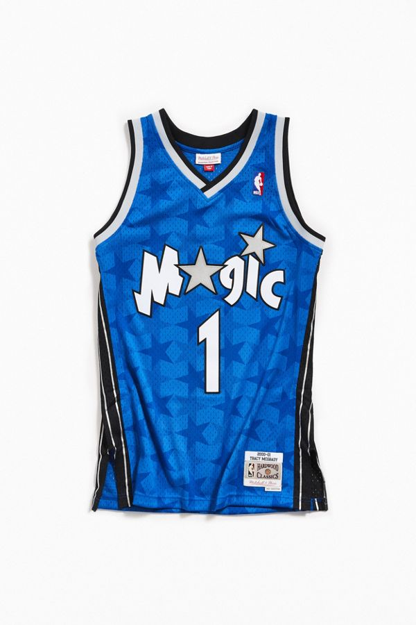c86f3ebc Mitchell & Ness Tracy McGrady 2000-01 Road Orlando Magic Swingman ...