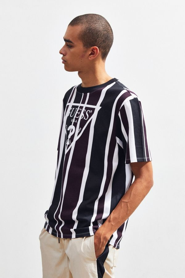 0a8a5a557d0 GUESS UO Exclusive Rexford Striped Tee