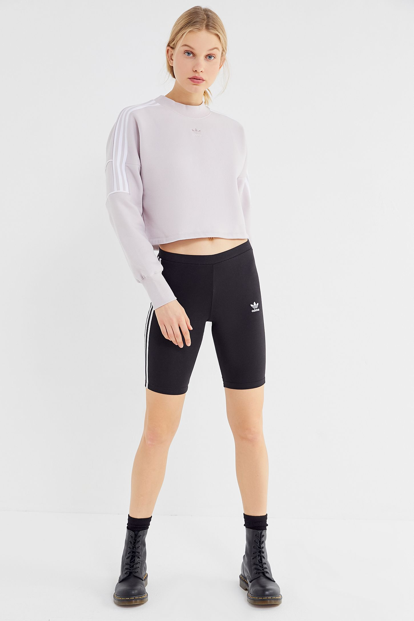 3c28da4efaf adidas Winter Ease Cropped Sweatshirt | Urban Outfitters Canada