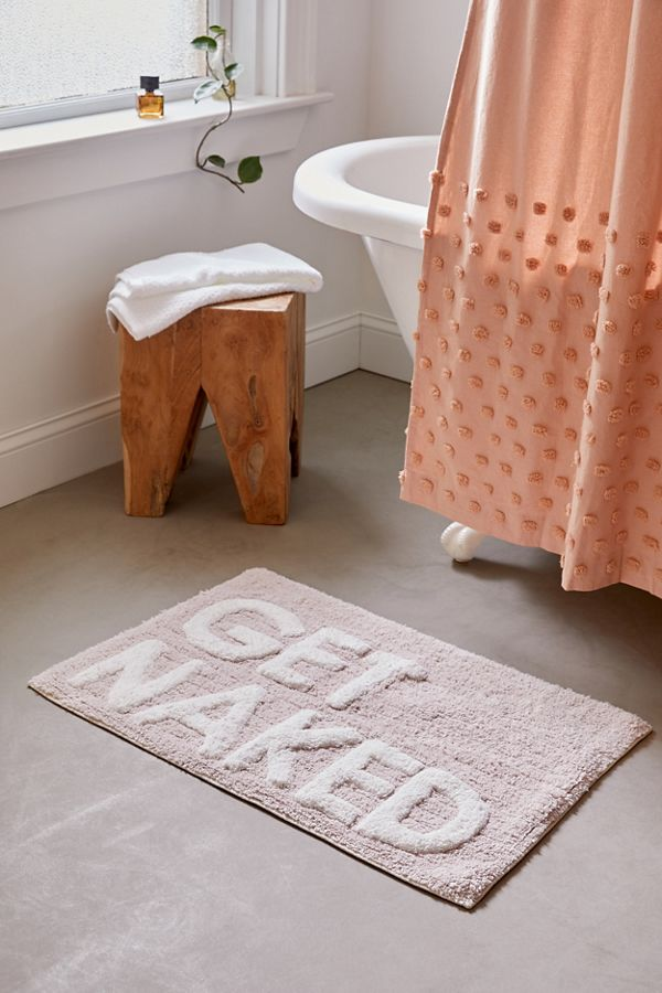 Slide View: 1: Get Naked Bath Mat