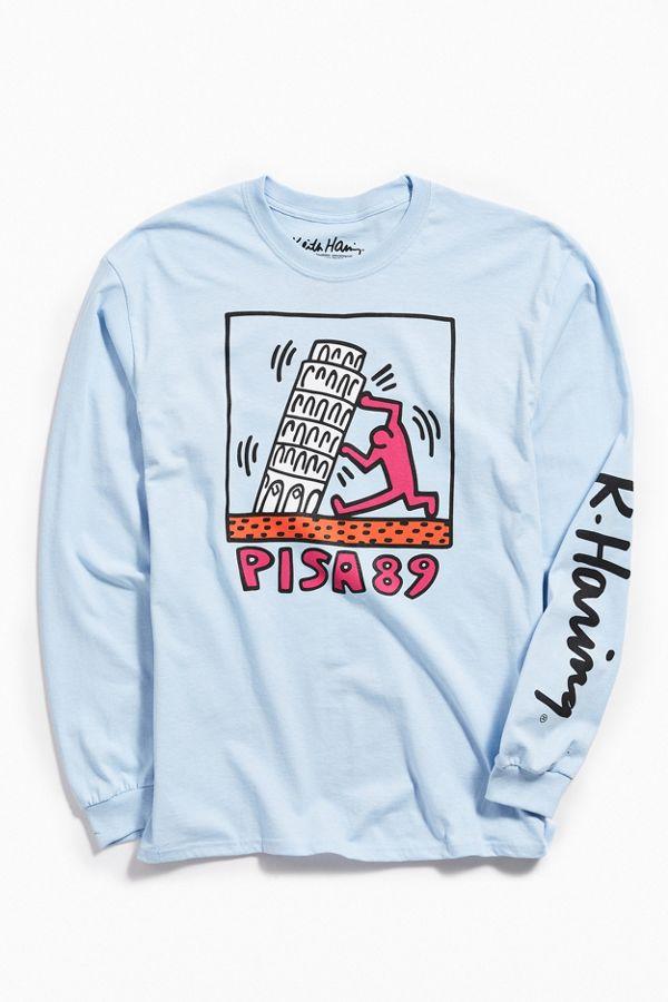 b25dd2c82 Keith Haring Pisa Long Sleeve Tee | Urban Outfitters