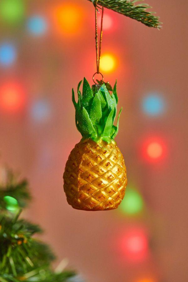 Christmas Pineapple.Pineapple Christmas Ornament