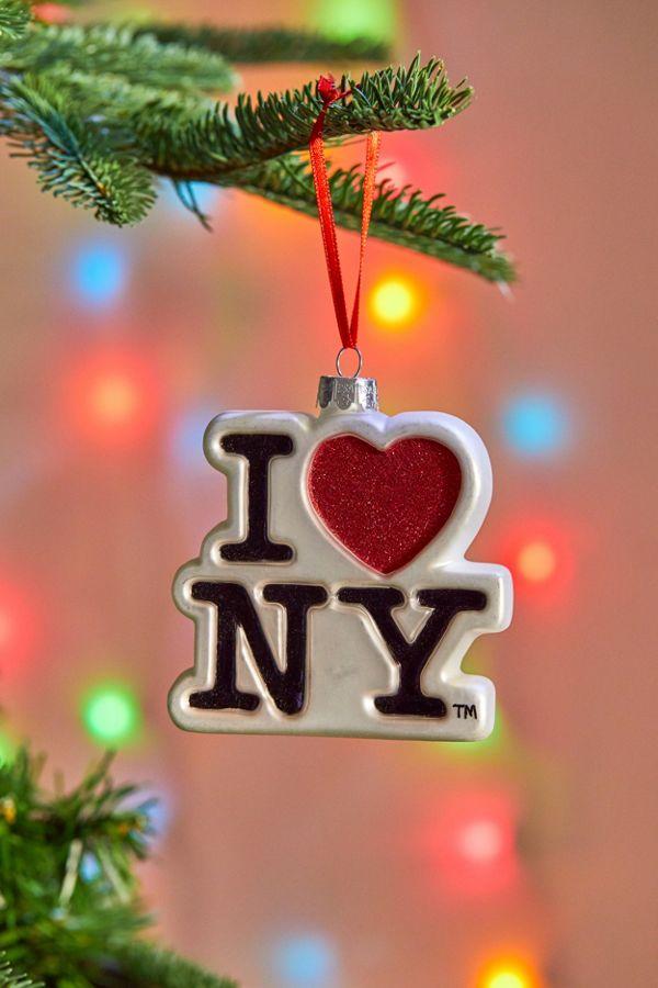 Iheart Christmas.I Heart Nyc Christmas Ornament