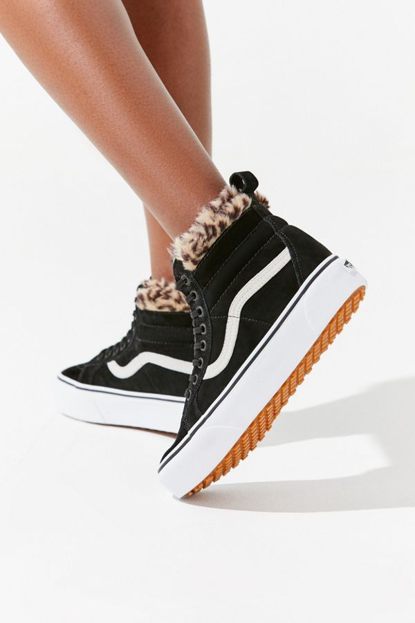 0479b8405c9d Vans Sk8-Hi Fur Lining Platform Sneaker