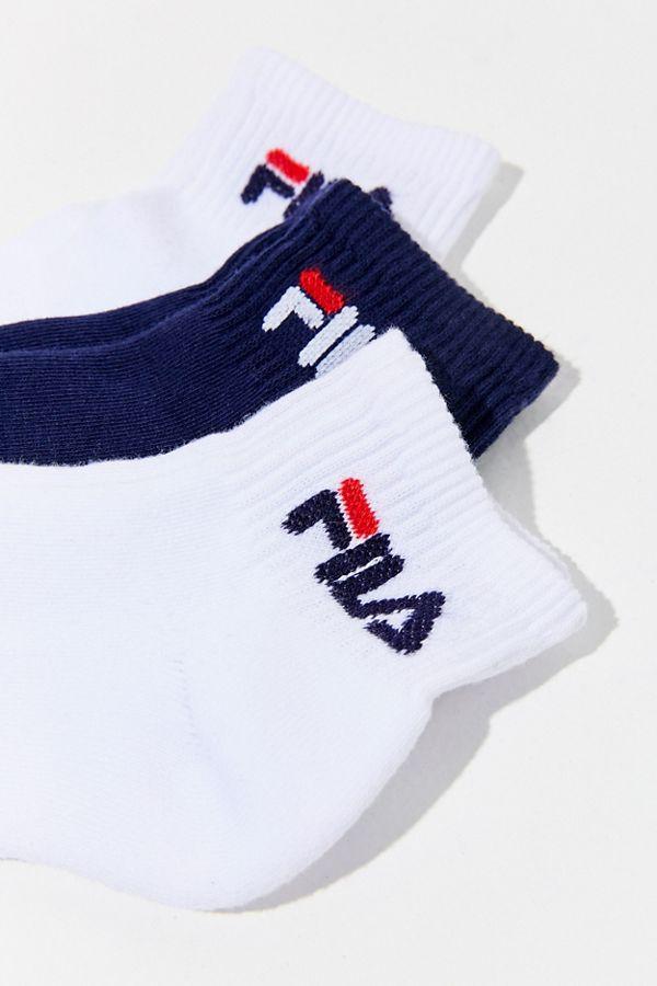 c343f46e6 FILA Logo Heritage Crew Sock 3-Pack