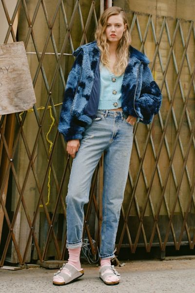 Bdg High Waisted Mom Jean Light Wash Urban Outfitters