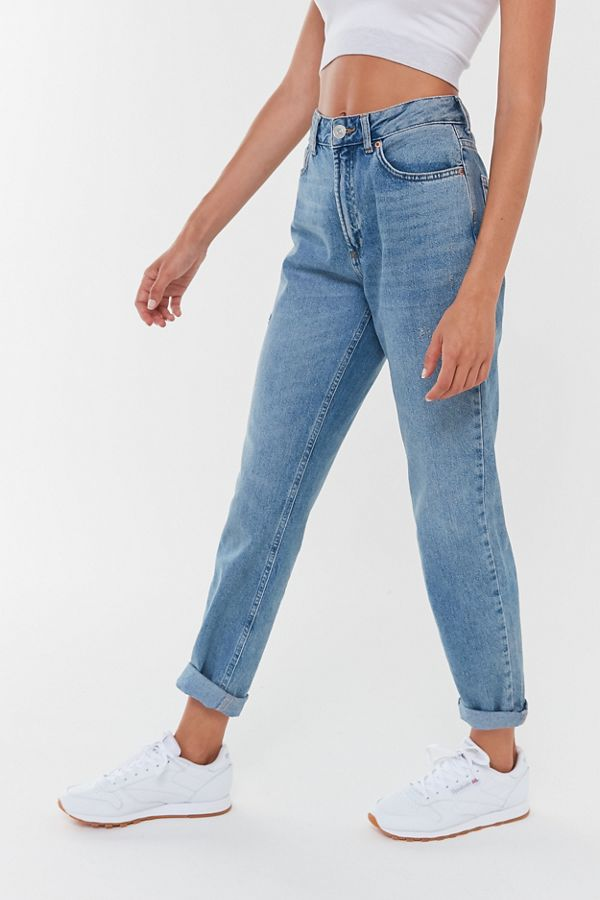 choose newest bright n colour release date: BDG High-Waisted Mom Jean – Light Wash