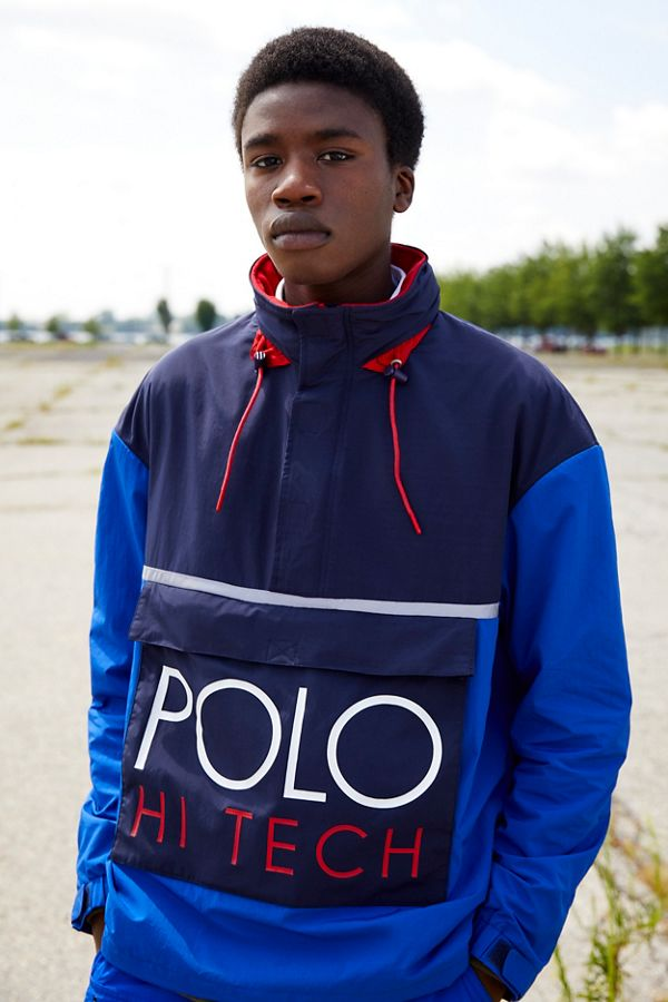 f8b9f213fc9bf8 Polo Ralph Lauren Hi-Tech Popover Anorak Jacket | Urban Outfitters