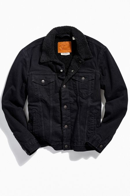 a31849d5 Levi's Type III Sherpa Lined Denim Jacket. Quick Shop