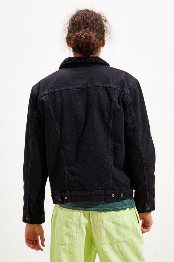Levis Type Iii Sherpa Lined Denim Jacket