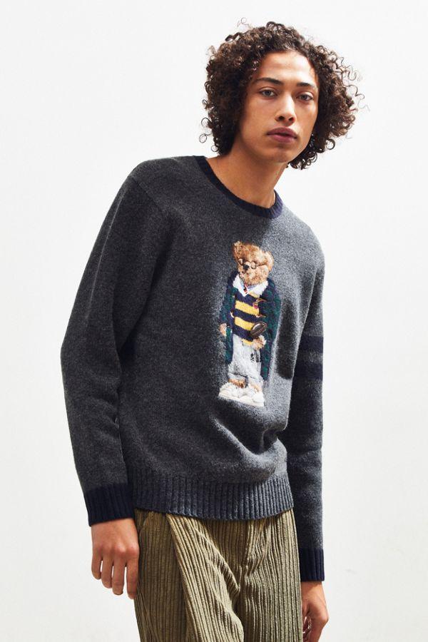 67fcf140ad0 Polo Ralph Lauren University Bear Crew-Neck Sweater
