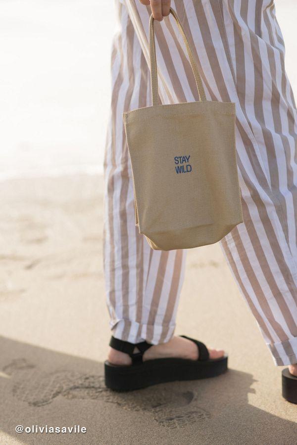 e6500ac4f1 Slide View  1  Mini Canvas Tote Bag