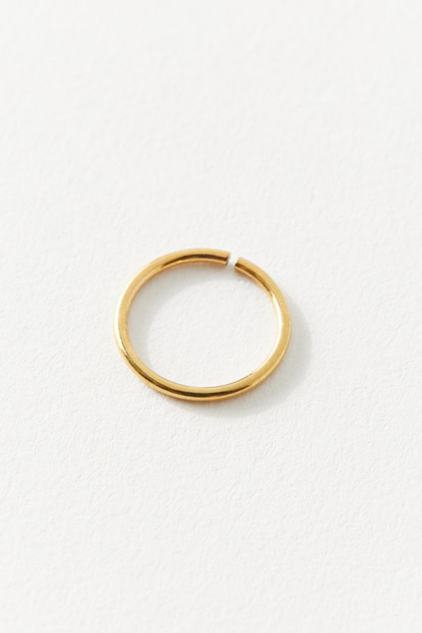 098a60224 14k Gold Simple Nose Ring | Urban Outfitters