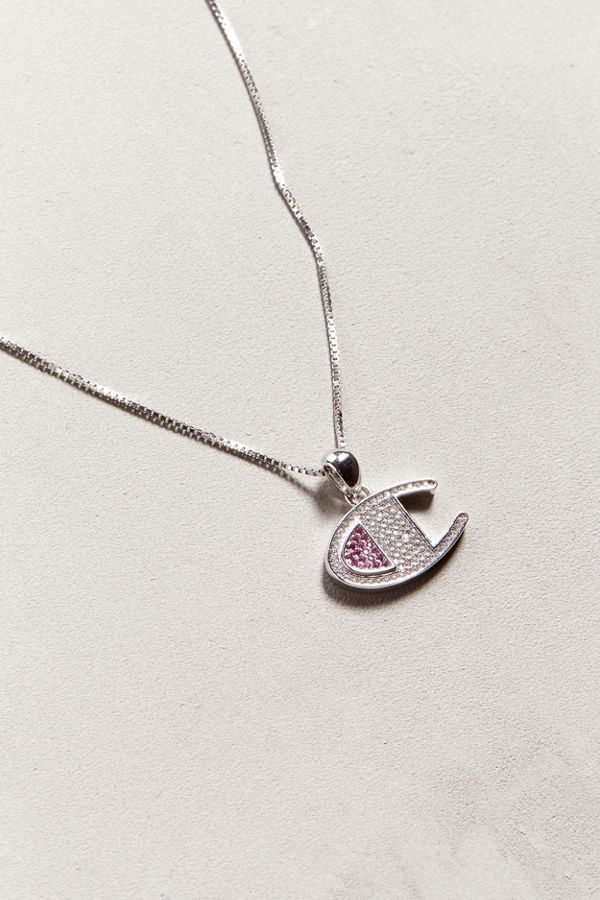 8a0bddb9b2168 Champion Heritage CZ Necklace | Urban Outfitters