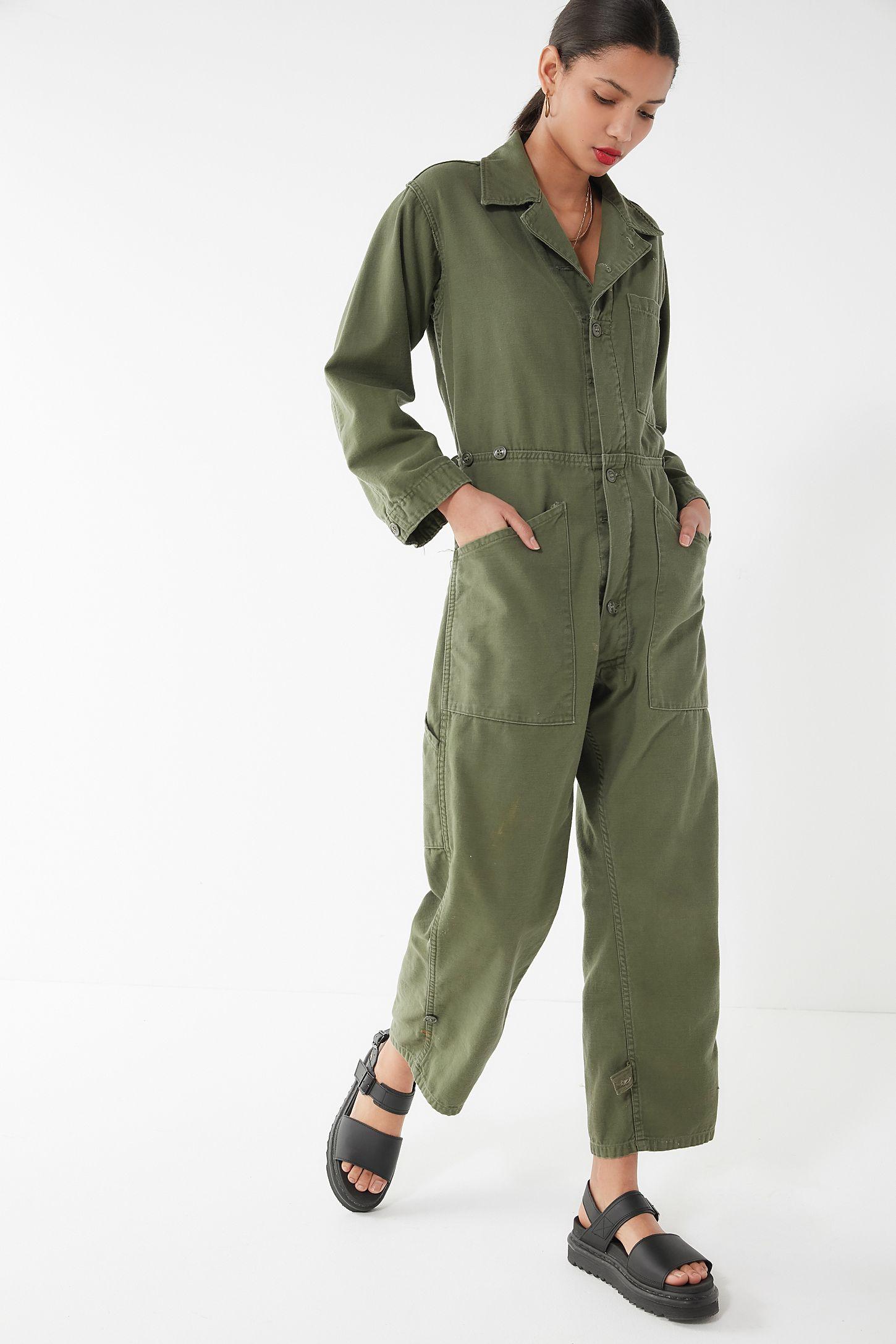 Wonderlijk Vintage Surplus Coverall Jumpsuit | Urban Outfitters MY-89