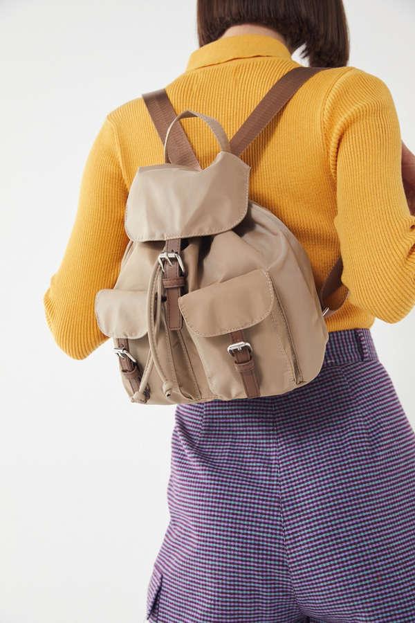 5444cf2ae4f8 Charlie Nylon Mini Backpack