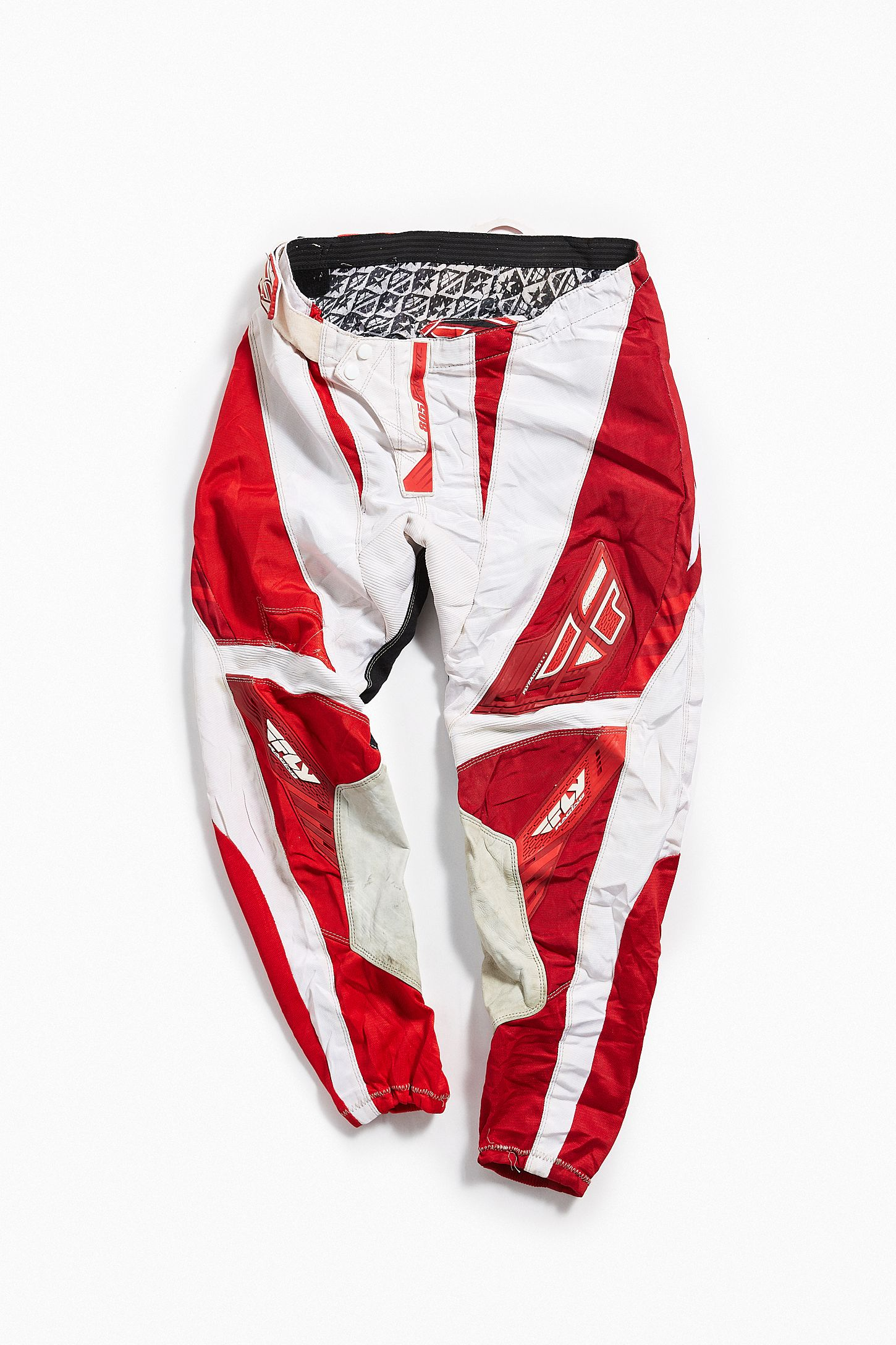 968fdf42c8621 Vintage Fly Racing Red + White Moto Pant | Urban Outfitters