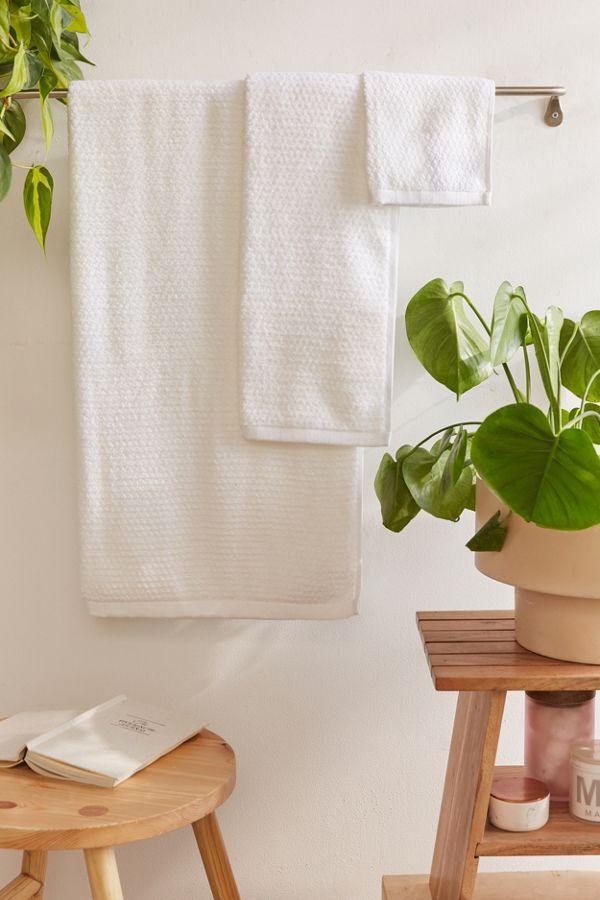 Slide View: 1: Everplush 6-Piece Diamond Jacquard Bath Towel Set