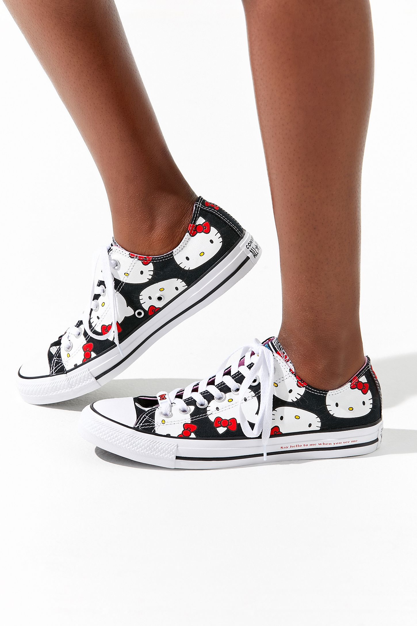 14eb917f9 Converse X Hello Kitty Chuck Taylor All Star Low Top Sneaker. Tap image to  zoom. Hover to zoom. Double Tap to Zoom